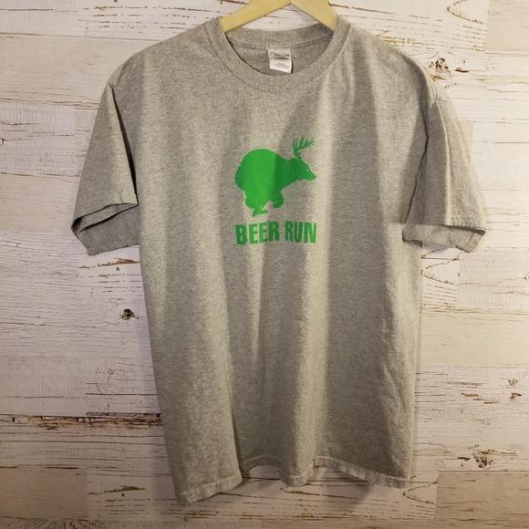 4fee7292 Gildan Shirts | Beer Run Graphic Rocky Mountain National Park Tee ...